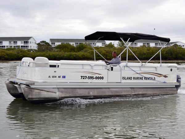 22 Avalon Catalina Tri-Toon Boat 1