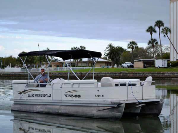 22 Avalon Catalina Tri-Toon Boat 5