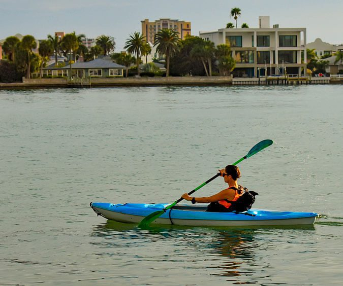 Perfect Place for Kayaking in Clearwater Beach FL